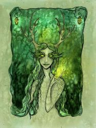 Lady of the Forest by TrollGirl