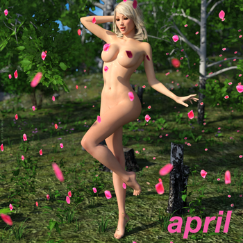 Sunny Weathers Heat Wave Calendar - April by lilacwren
