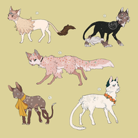 couture cat adopts (CLOSED) by txpir