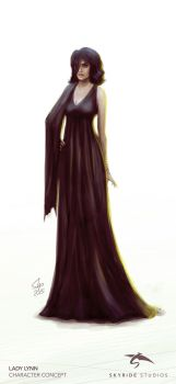 Lady Lynn Character Concept by slipled