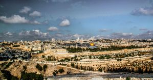 A view to Jerusalem by ShlomitMessica