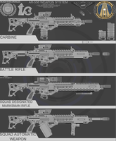 AR-558 Weapon System WIP 2 by Jon-Michael-May