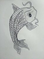 Koi Fish by dwaters220