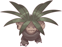 Hanako's Exeggutor Commission
