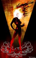 Rachel Summers Phoenix by Tom Kelly by TomKellyART