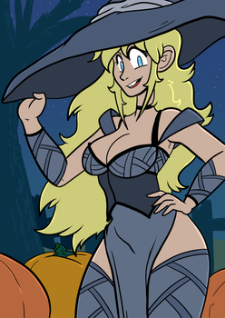 Octoberwitchnina by Crave-The-Bullet