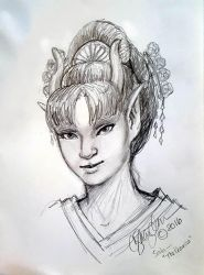 April Drawing: Sata Study by MommySpike