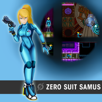 Zero Suit Samus by Macharro