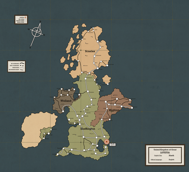 United Kingdom of Great Lutetia (1914) by Cloud-Empire