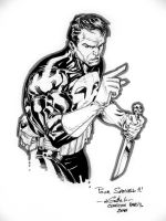 Punisher bust by SpiderGuile
