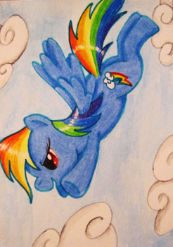 30-Day-Challenge #17: Rainbooms in the Sky by QuecksilberRose