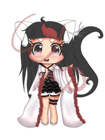 : Kiriban : Chibi for YuriKitten - WIP by ichiipanpan