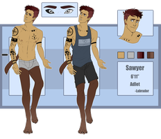 Sawyer Ref by rytanny