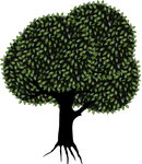 Whimsical tree PNG transparent by madetobeunique