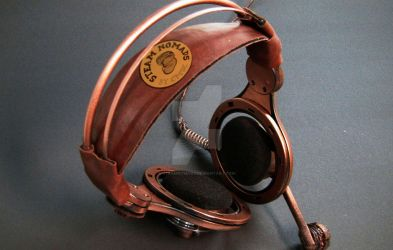 Steampunk Headset by SteamNomads