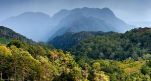 The misty mountains by LordLJCornellPhotos