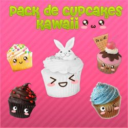Pack De Kawaii PNG by florargento
