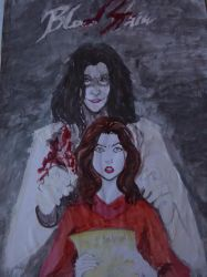 Blood Stain  cover fanart by KarmicCircleArts