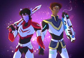 Galaxy Husbands (Klance) by KT-ExReplica