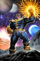 Thanos Commission by TeoGonzalezColors