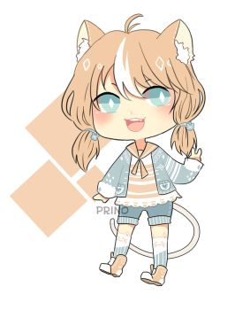 [CLOSED] Adopted - Mimi the Kitty by Prino-chan