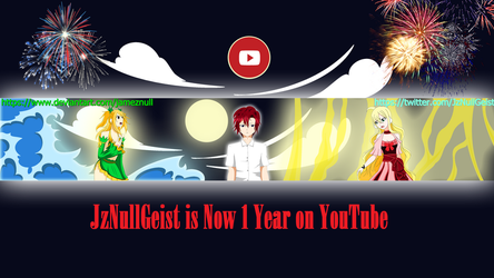 YouTube Channel Art by JamezNull