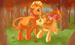 Leafy and Lucky Leaf by SillyCaracal