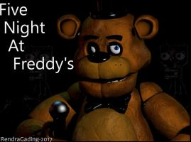 Five Night At Freddy's 1 Teaser Reacreation by rendragading