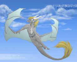 I am the WIND - Anthro Ref - by FalIndelstan