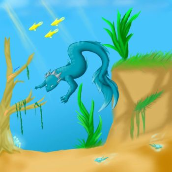 Water Discoveries by Dustsara