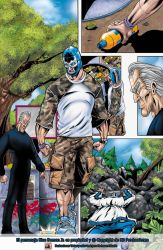 Color test page Blue Demon by aladecuervo