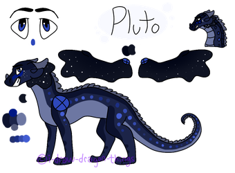 Fullbody Pluto Ref Sheet by i-draw-dragon-things