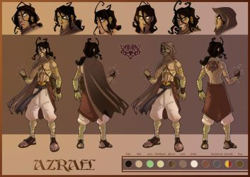 Character design by Javas