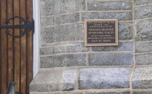 Historic Plaque by steward