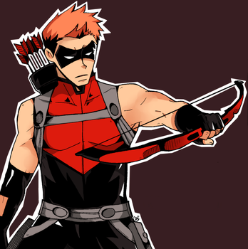 Young Justice - Red Arrow by finnborden