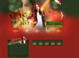 Layout ft. Lucy Hale 003 by PixxLussy