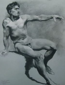 Copy of Male Nude by Prud'hon by PedTuron