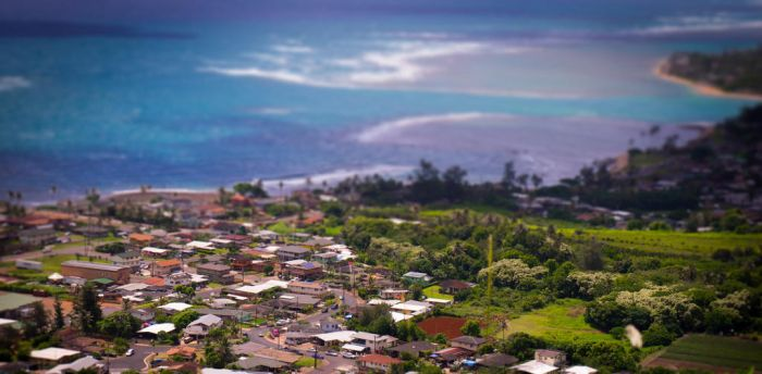 Hawaii Tilt Shift by chelsaroo