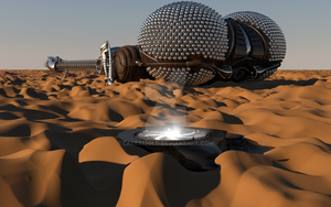 LEXX: L-05 on an unknown desert planet (Photo 2) by Lake333GLD