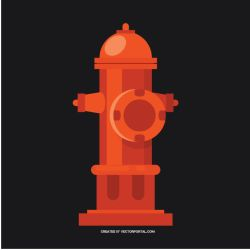 Water hydrant vector image by Vectorportal