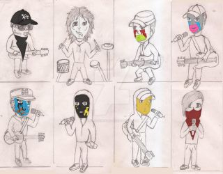 Hollywood Undead Group Picture by UnicronHound