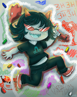 Homestuck: Crayons by ChibiSo
