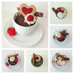 Teacup pincushions by evikted