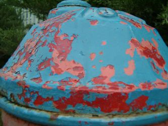 Hydrant Paint Peel by RBL-M1A2Tanker