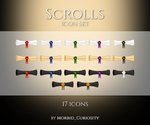 Scrolls icon set by M-Curiosity