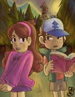 Gravity Falls by ckt