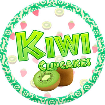 Kiwi Cupcakes by Echilon