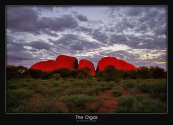 The Olgas by AB-Photography