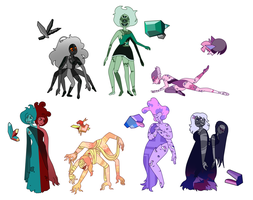 Forced fusion gem adopts [closed] by LadyNephthys