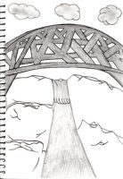 The Bridge sketch by Megalomaniacaly